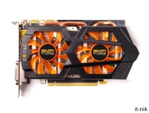 Новинка от ZOTAC: видеоадаптер GeForce GTX 660 Thunderbolt Edition